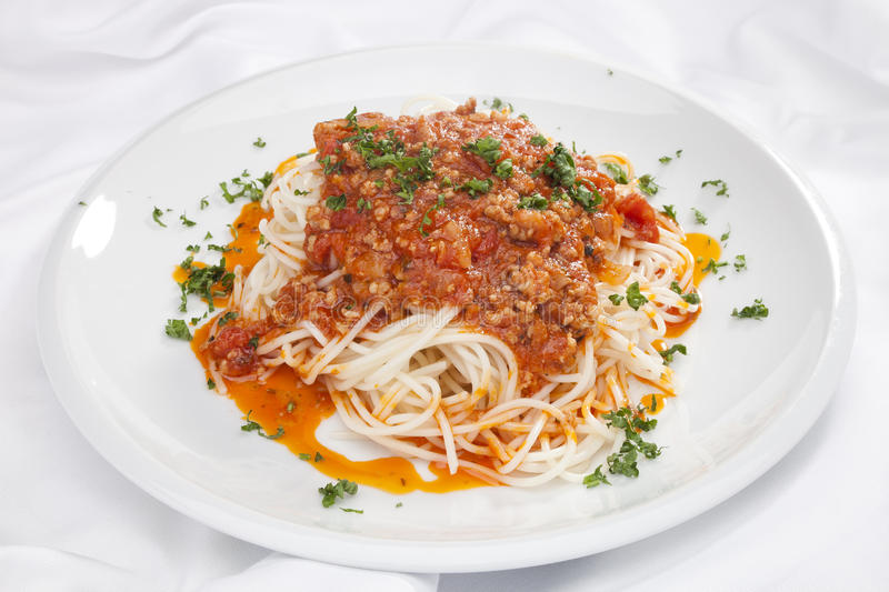 Download Spaghetti Bolognese stock photo. Image of napoli, dinner - 24146488
