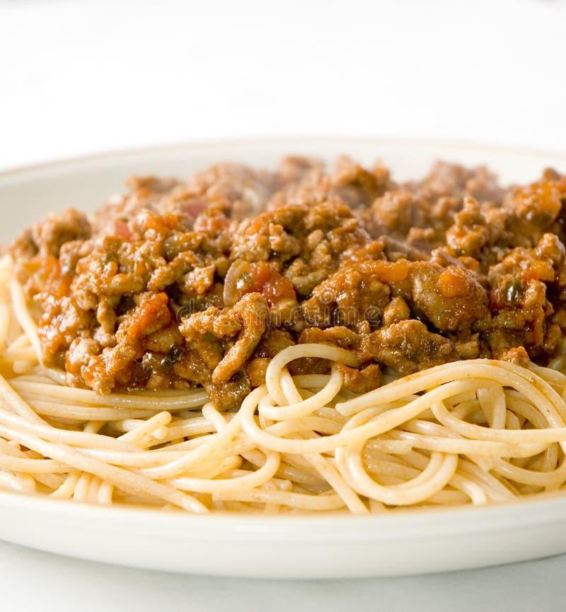 Spaghetti bolognese 3 immagine stock libera da diritti