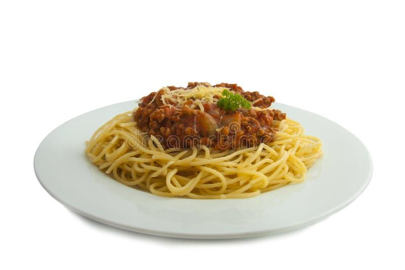 Spaghetti bolognese immagine stock