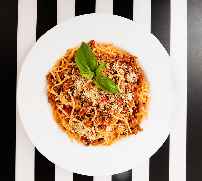 Spaghetti Bolonais photo stock