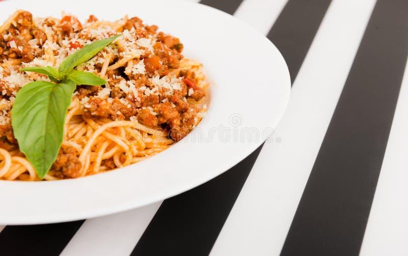 Spaghetti Bolonais photos stock