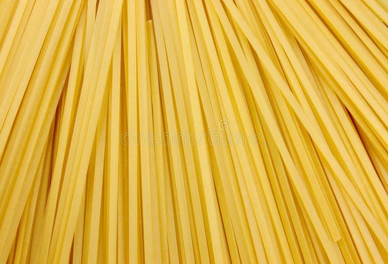 Spaghetti crus image libre de droits