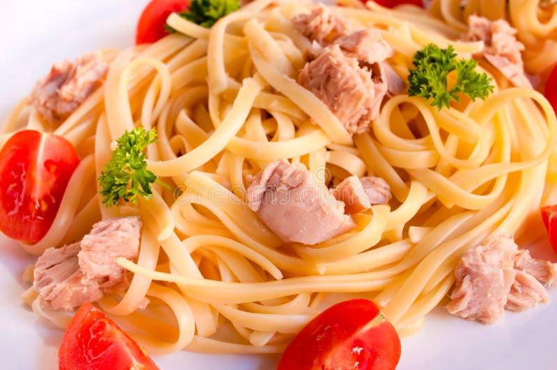 Spaghetti czas zdjęcia stock