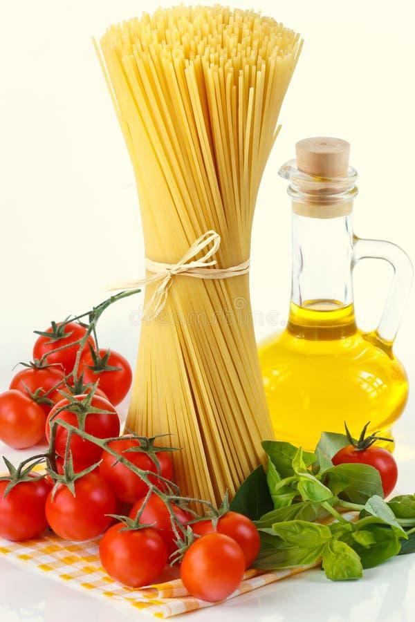 Spaghetti della pasta. immagini stock