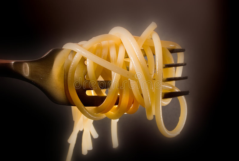 Download Spaghetti fork stock photo. Image of ingredient, tradition - 79038