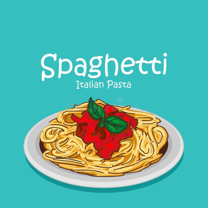 Free Spaghetti Italian Foodvector Stock Image - 147197751