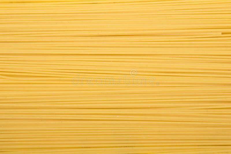 Spaghetti makaronu tekstura dla tła, fotografia stock
