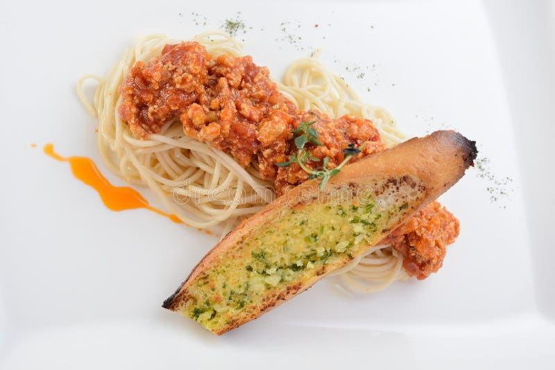 Spaghetti Marinara royalty-vrije stock afbeeldingen