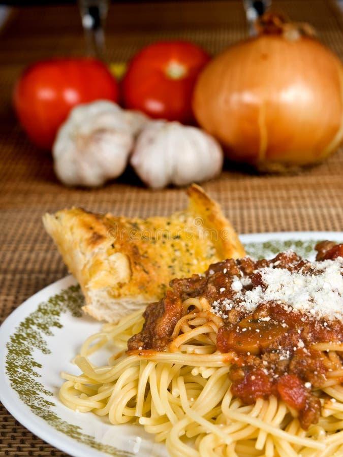 Spaghetti & Mięsa Kumberland Bezpłatny Obraz Stock