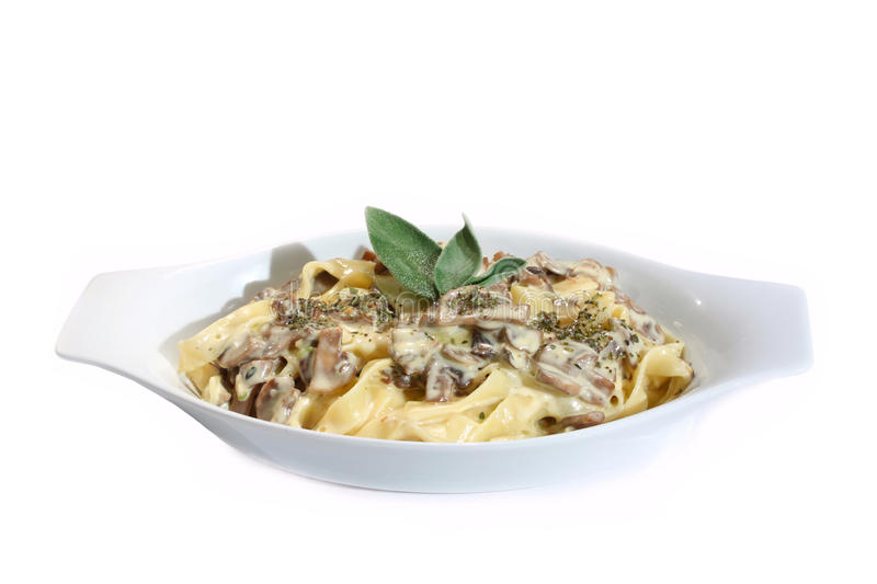 Download Spaghetti With Mushrooms Royalty Free Stock Photos - Image: 11554838