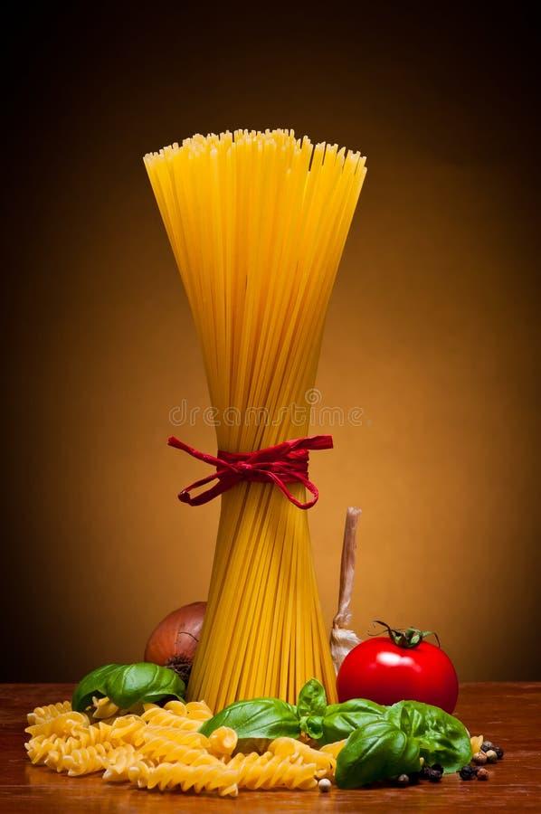 Spaghetti pasta stock image