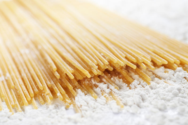 Download Spaghetti pasta closeup stock image. Image of flour, spaghetti - 20413573