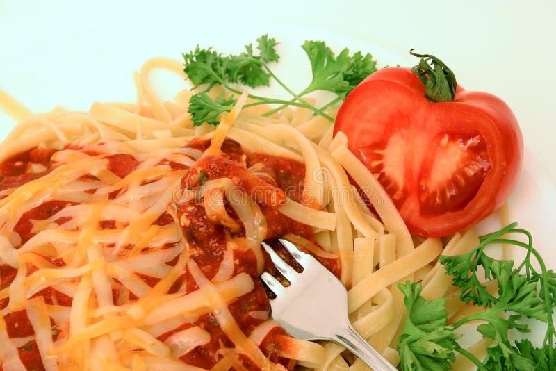 spaghetti serii fotografia royalty free