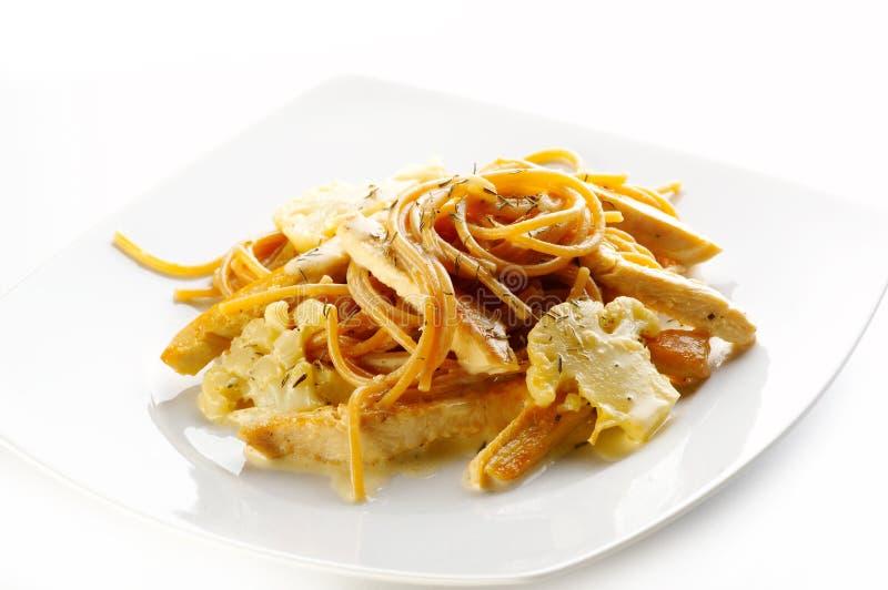 spaghetti sojowy zdjęcie royalty free