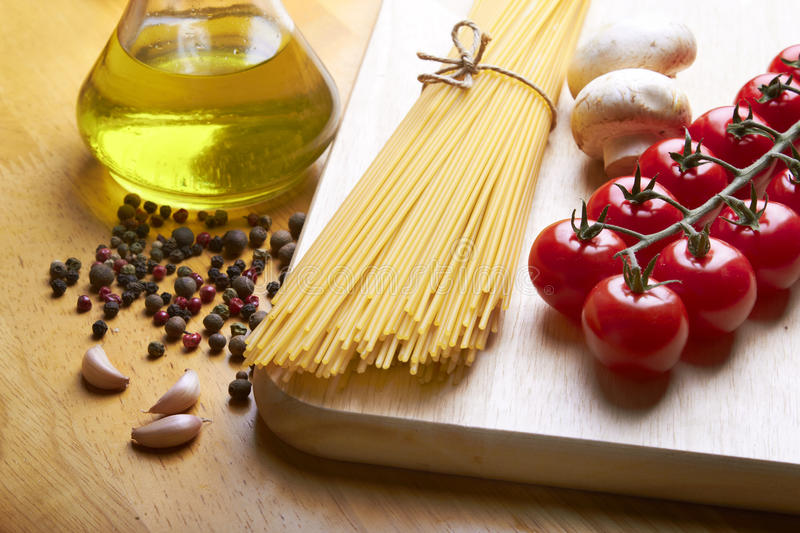 Download Spaghetti on table stock photo. Image of fresh, dining - 22138218