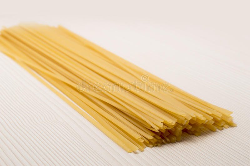 Spaghetti On A Table Ready To Cook Stock Photography