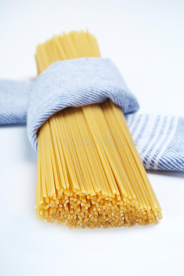 Download Spaghetti wrapped in cloth stock photo. Image of pasta - 20413564