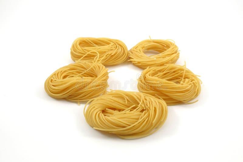 Spaghettiengelshaar lizenzfreies stockfoto
