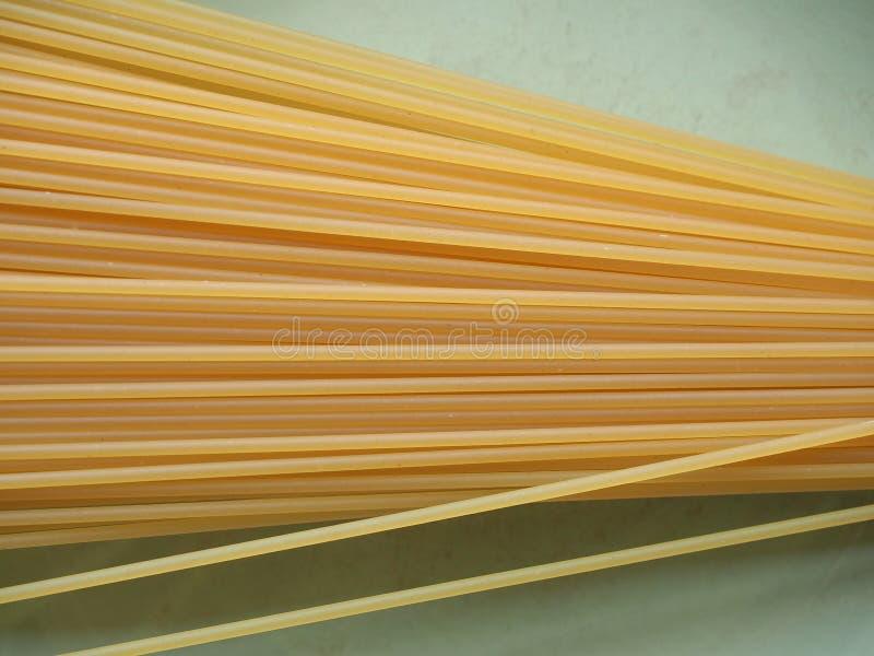 Spaghettiteigwarenlebensmittel lizenzfreies stockbild