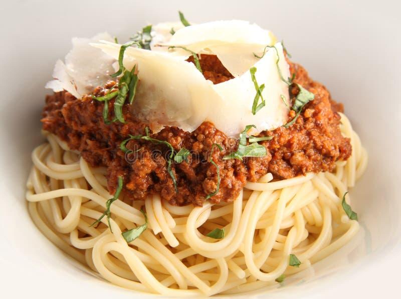 Spaghetty con formaggio immagine stock libera da diritti