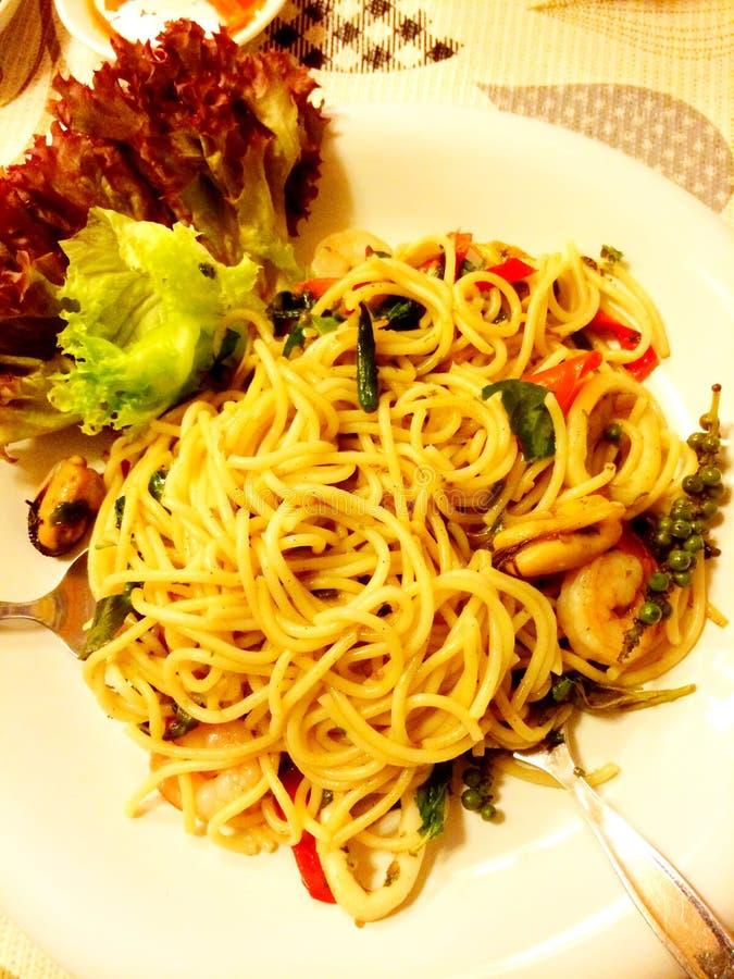 Spaghetty foto de archivo libre de regalías