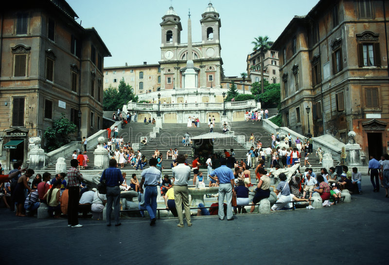 spagna Di piazza στοκ εικόνα