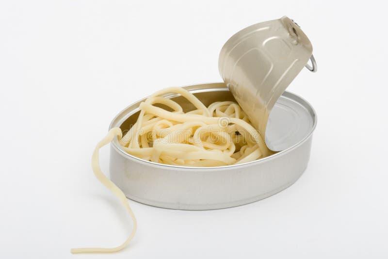 Spaguetti enlatado foto de stock royalty free