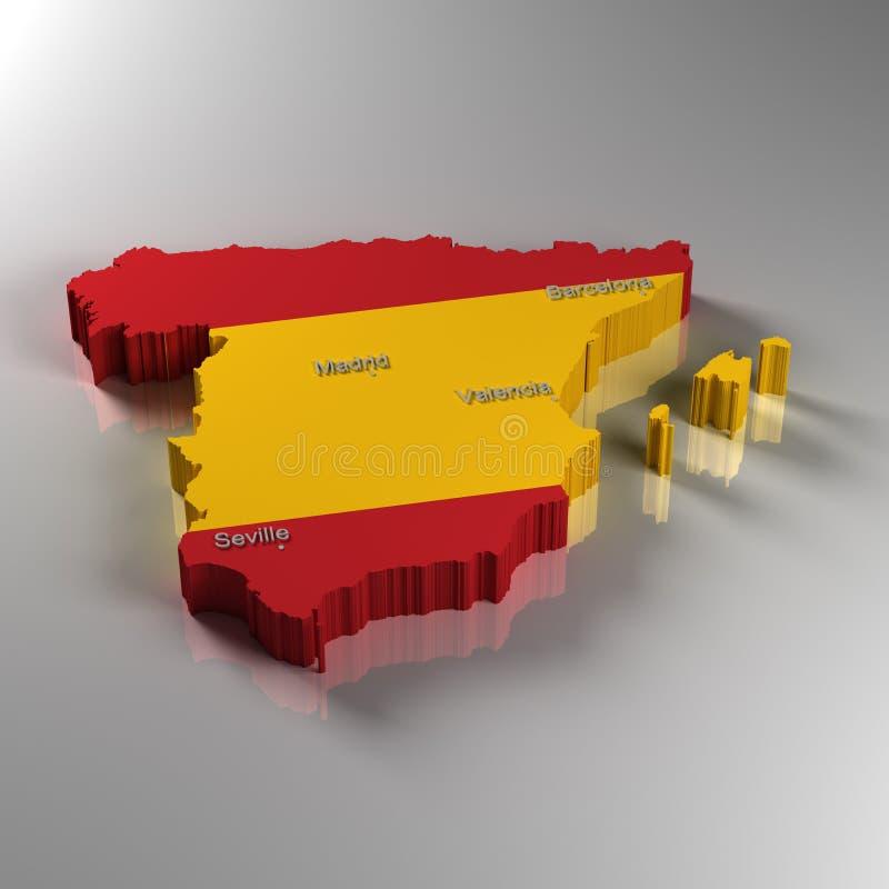 Spain stock illustration