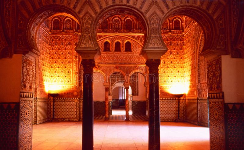 Spain: The Alhambra in Toledo. Is a cultural landmark royalty free stock photos
