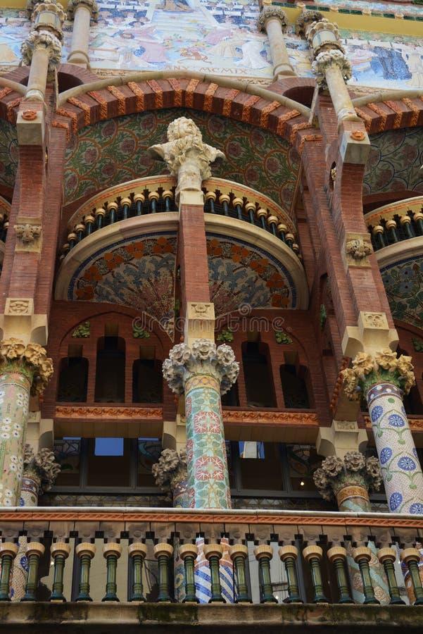 Spain Barcelona May 15, 2016 royalty free stock photography