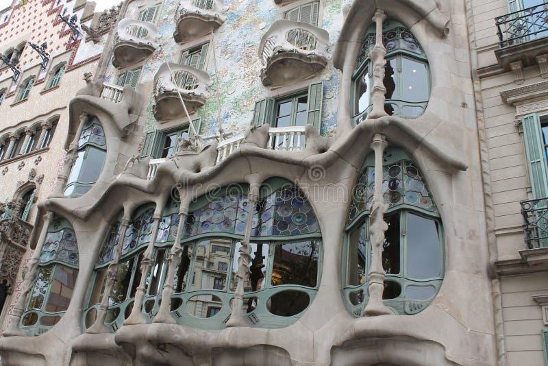 Spain 2015 Barselona Casa Batlló royalty free stock photos