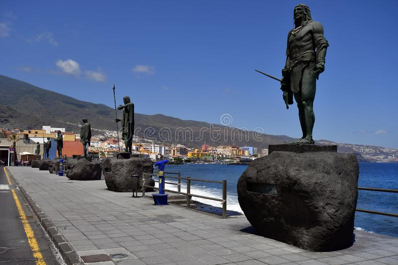 Spain, Canary Islands, Tenerife, Candelaria royalty free stock photos