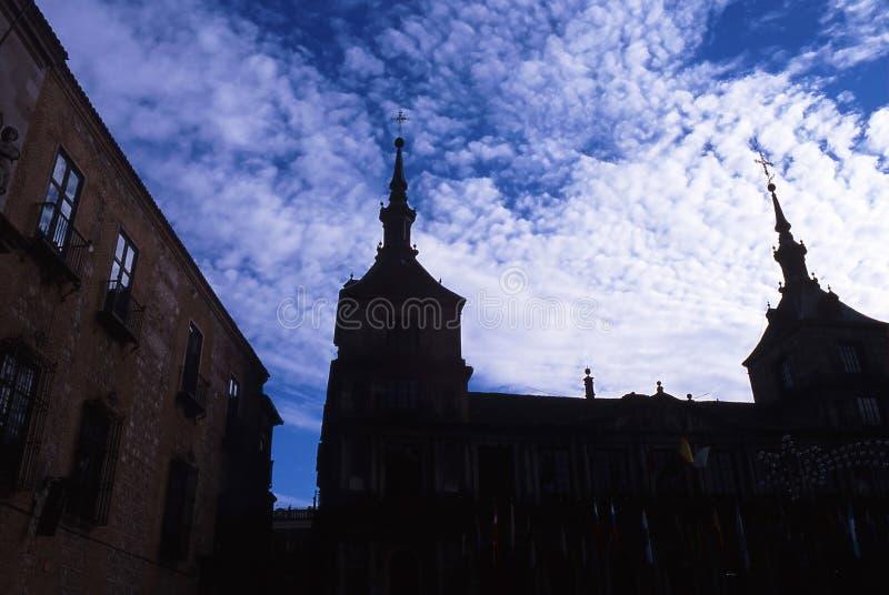 Spain city stock image