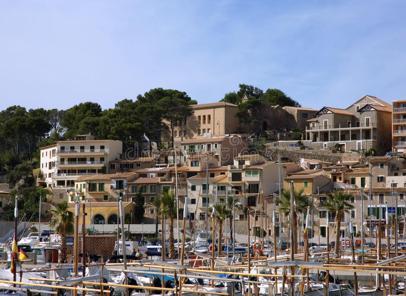 Download Spain fishing boats stock photo. Image of blue, soller - 16759334