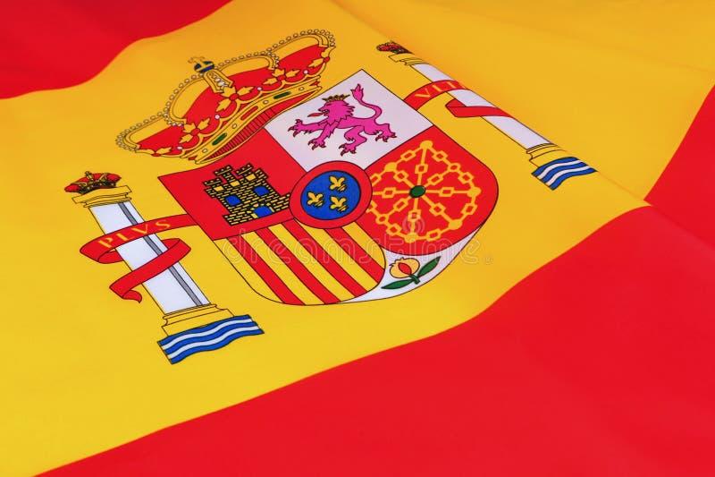 Spain Flag stock photography