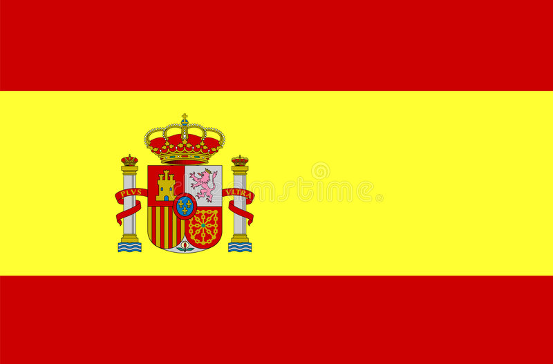 Spain Flag vector illustration