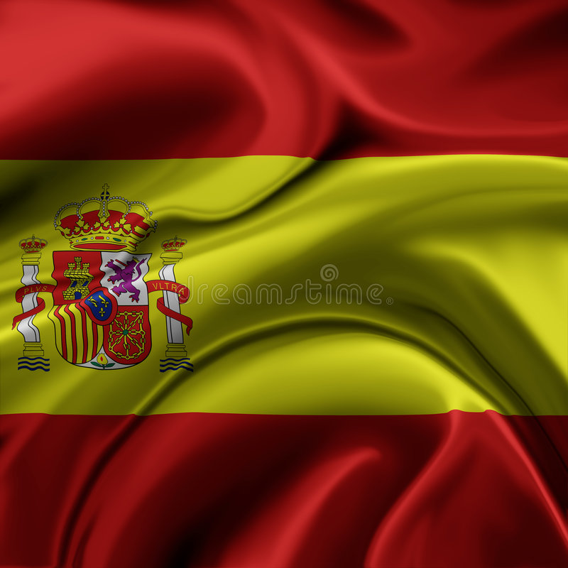 Free Spain Flag Stock Photography - 8125202