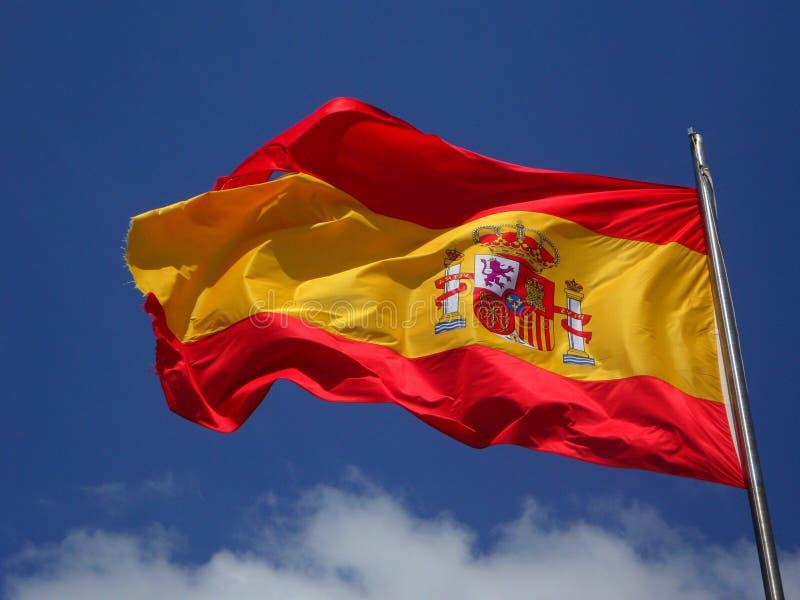 Spain Flag In Pole Free Public Domain Cc0 Image