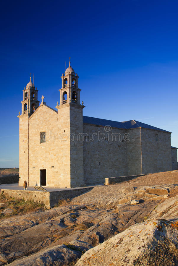 Spain, Galicia, Muxia, Virxe de la Barca Sanctuary royalty free stock photography