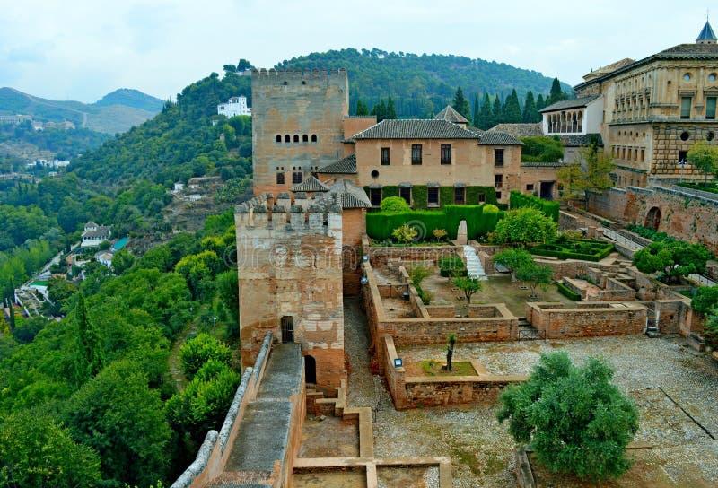 Spain Granada Alhambra Generalife (4) royalty free stock photo