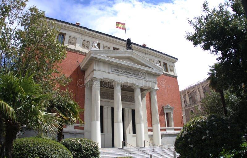Spain Madrid Academia real Espanola fotos de stock