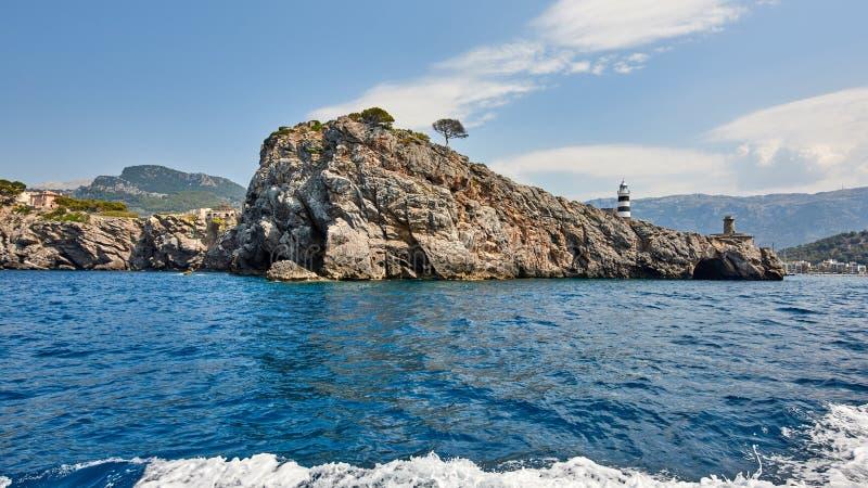 Spain. Mallorca. Port de Soller stock images