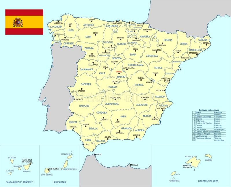 Spain map cdr format stock vector illustration of castellon download spain map cdr format stock vector illustration of castellon 89878234 gumiabroncs Image collections