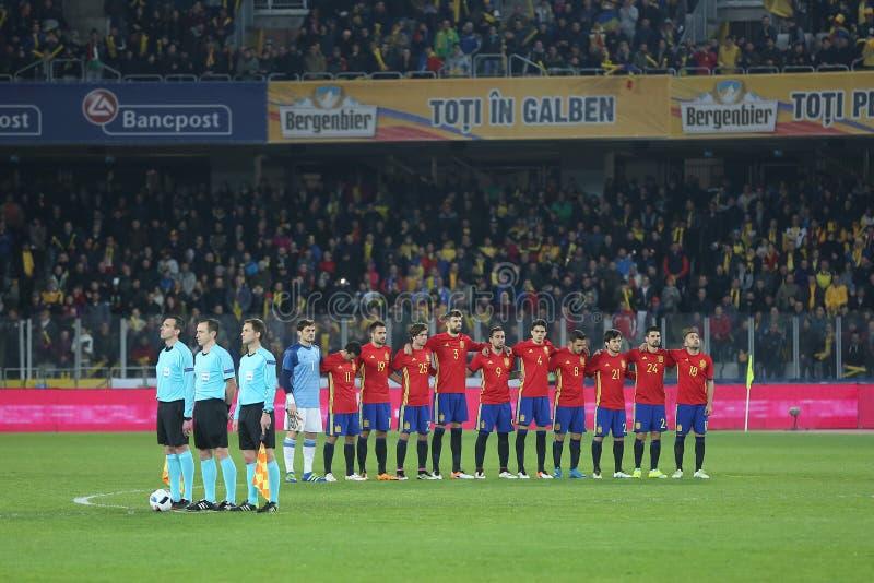 Spain - National football team royalty free stock photos
