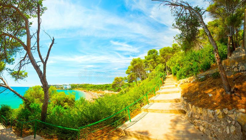 Spain. Salou resort royalty free stock photography
