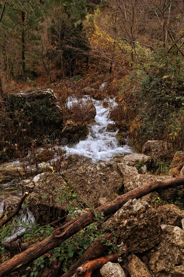 Download Spain: Source Of The Mundo River Stock Image - Image: 22268321