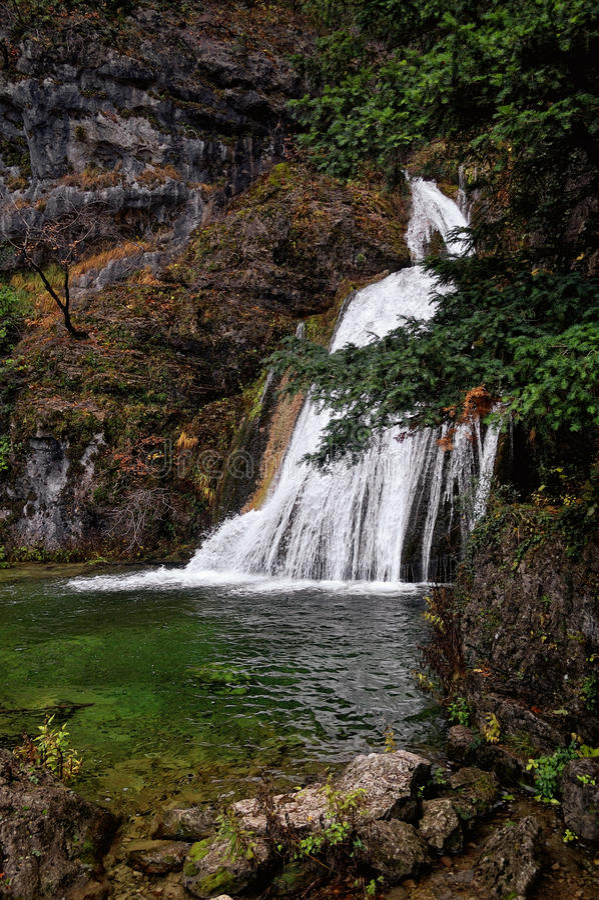 Spain: source of the Mundo River. Spain, region of Castilla La Mancha, source of the Mundo River stock photos