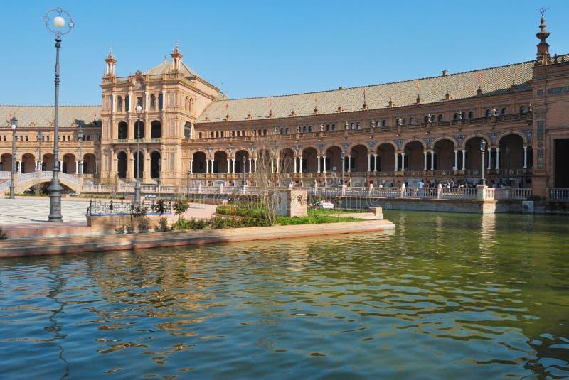 Spain square royalty free stock photos