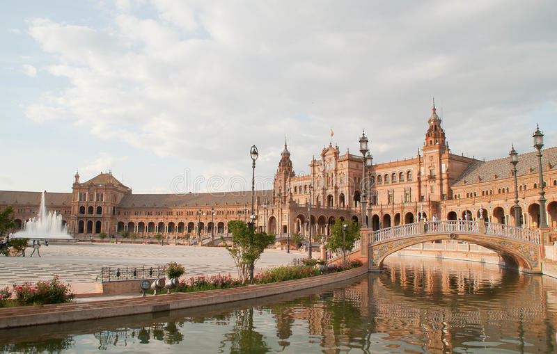 Download Spain Square, Seville Royalty Free Stock Photos - Image: 32399888