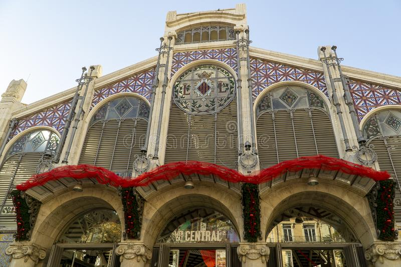 Spain, Valencia, the central market royalty free stock image